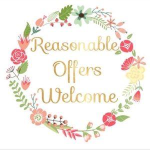 Send reasonable offers pwez!